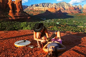 Sedona Vortex Adventures guide their clients through a Chakra Vortex Cord Cutting Session