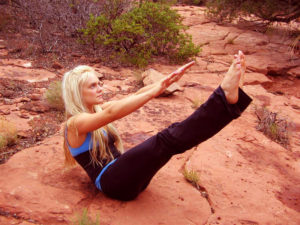 Hatha Yoga in the Sacred Red Rocks of Sedona