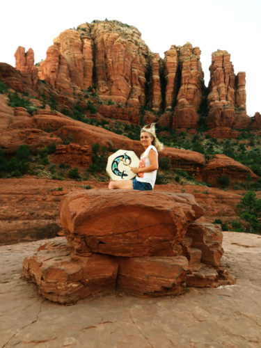 Sedona Vortex Adventures Drumming Ceremony in the Red Rocks