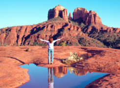 Re-connecting Your Awareness With Nature in the Sacred Red Rocks of Sedona