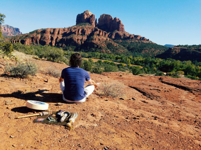 Finding peace within during a Zen retreat with Sedona Vortex Adventures