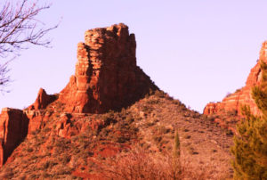 Courthouse Butte Rock In Sedona, Arizona is know as one of the seven Vortexes