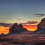 Enjoy the sunset at Sedona's Schnebly Hill
