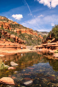 Slide Rock State Park in Sedona, AZ