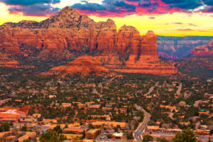 Sedona, Arizona travel destination for a Vortex Tour