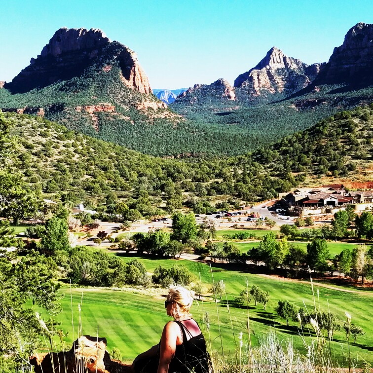 healing retreat with sedona vortex