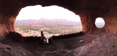 Shamanic Ceremonies at Shaman's Cave in Sedona