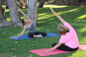 Sedona Vortex Adventures Yoga Session in the Park