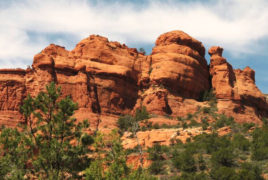 Enjoy a relaxing hike with Sedona Vortex Adventures at Deadman's Pass