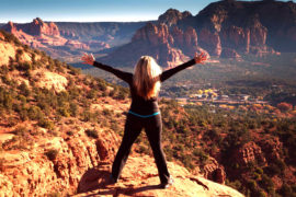 Replenish Yourself Within in Sedona Red Rocks