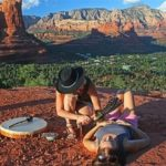 Experience a cord cutting session in the Red Rocks of Sedona